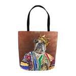 'Notorious D.O.G.' Personalized Tote Bag