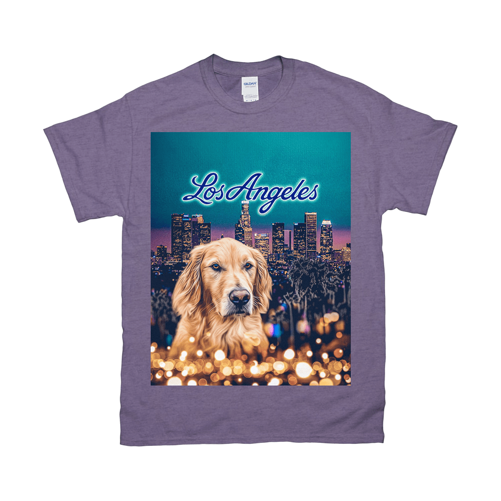 'Doggos of Los Angeles' Personalized Pet T-Shirt