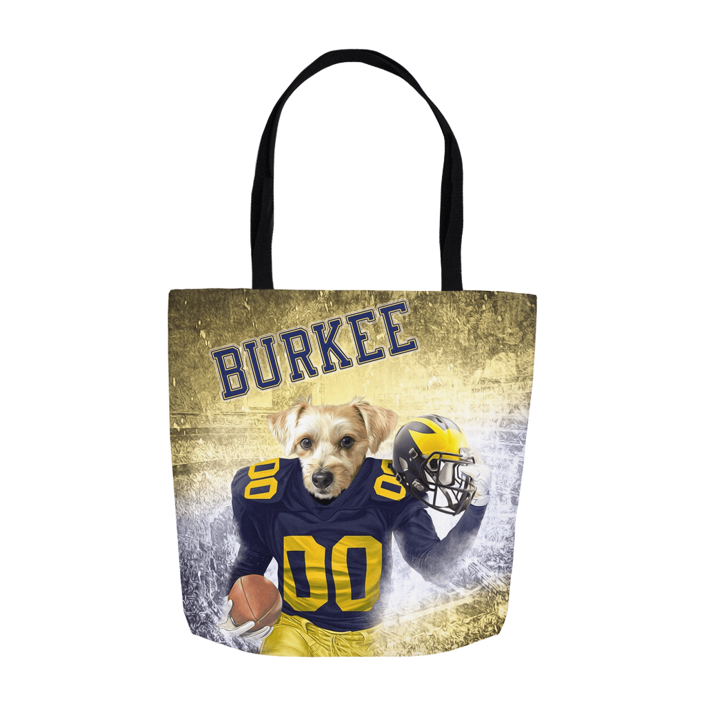 'Michigan Doggos' Personalized Tote Bag