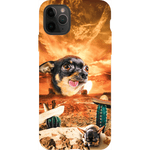 'Mexican Desert' Personalized Pet Phone Cases