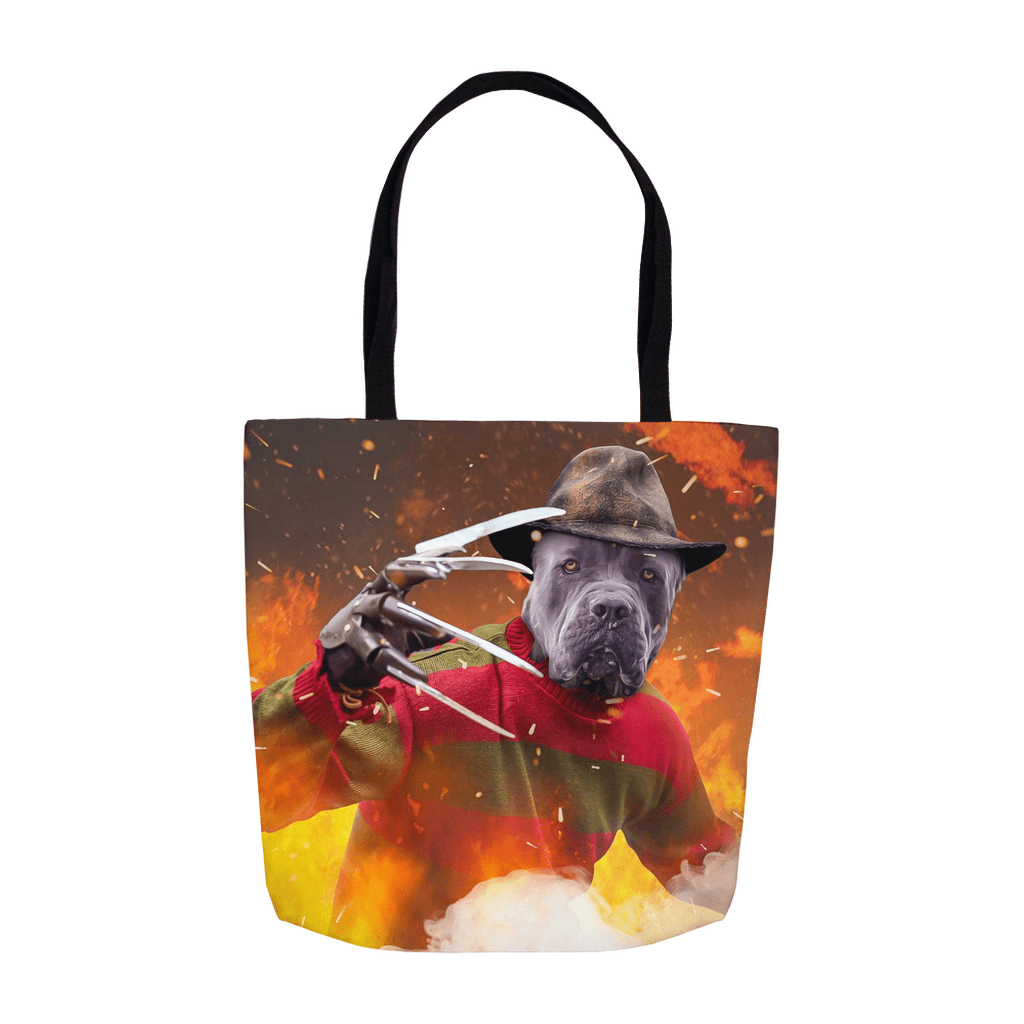 'Freddy Woofer' Personalized Tote Bag
