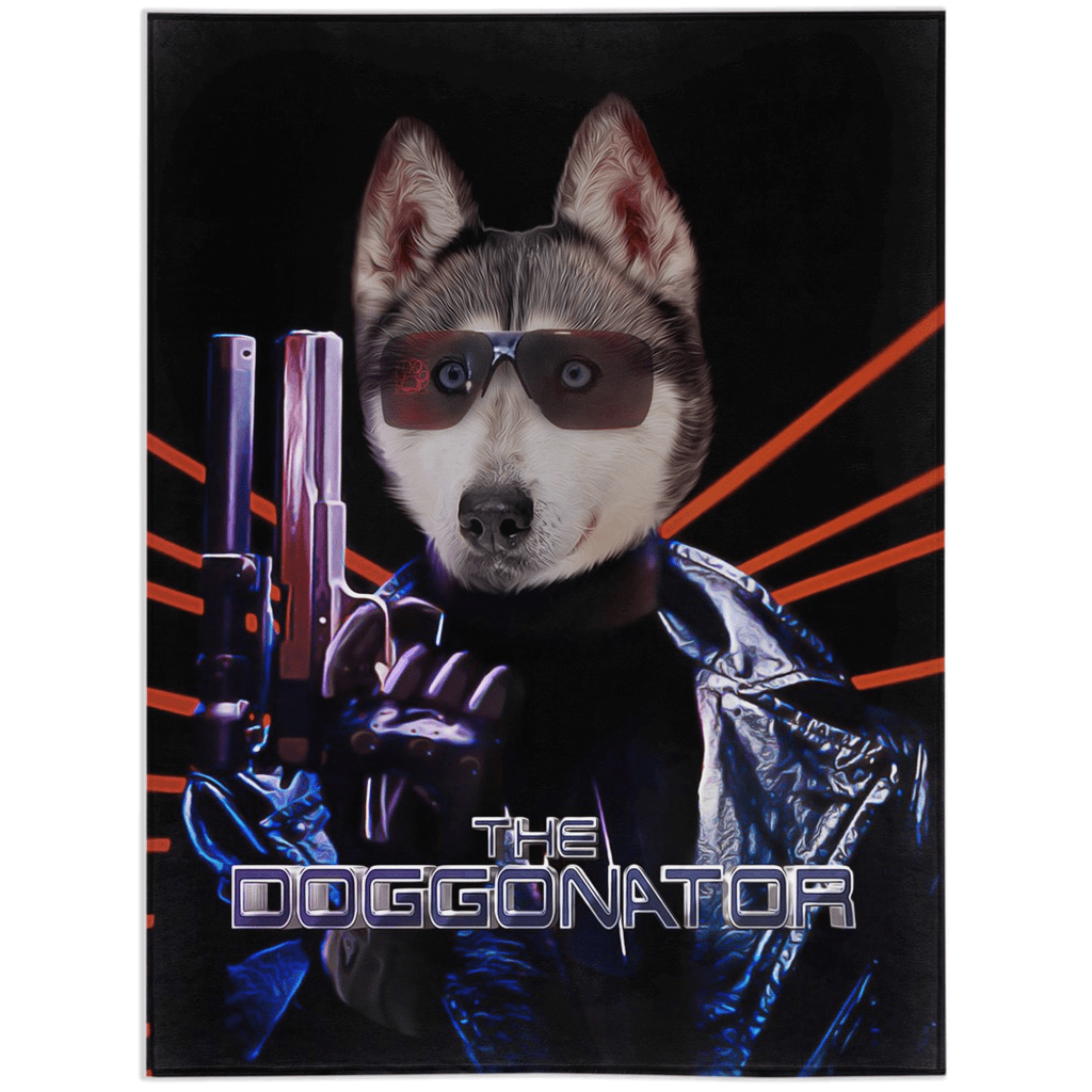 'The Doggonator' Personalized Pet Blanket