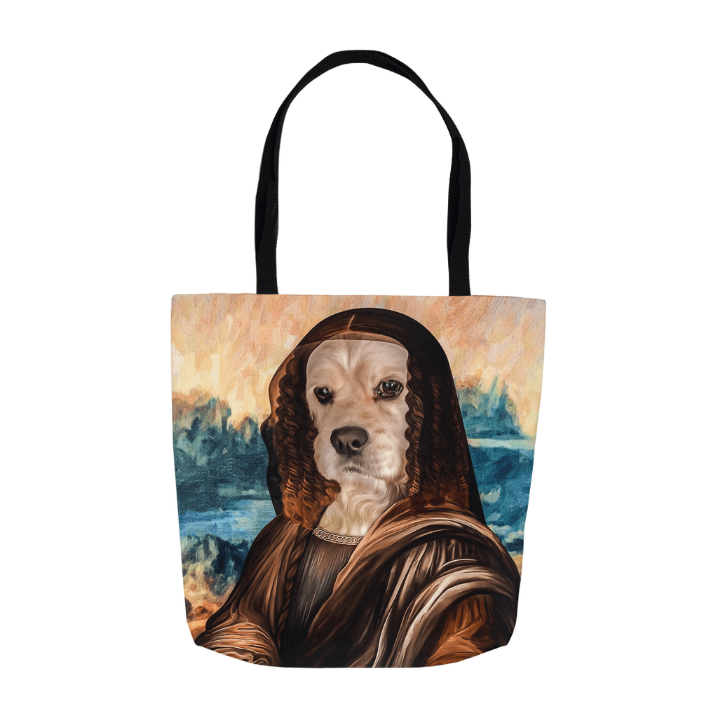 'Dogga Lisa' Personalized Tote Bag