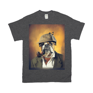 'Sherlock Doggo' Personalized Pet T-Shirt