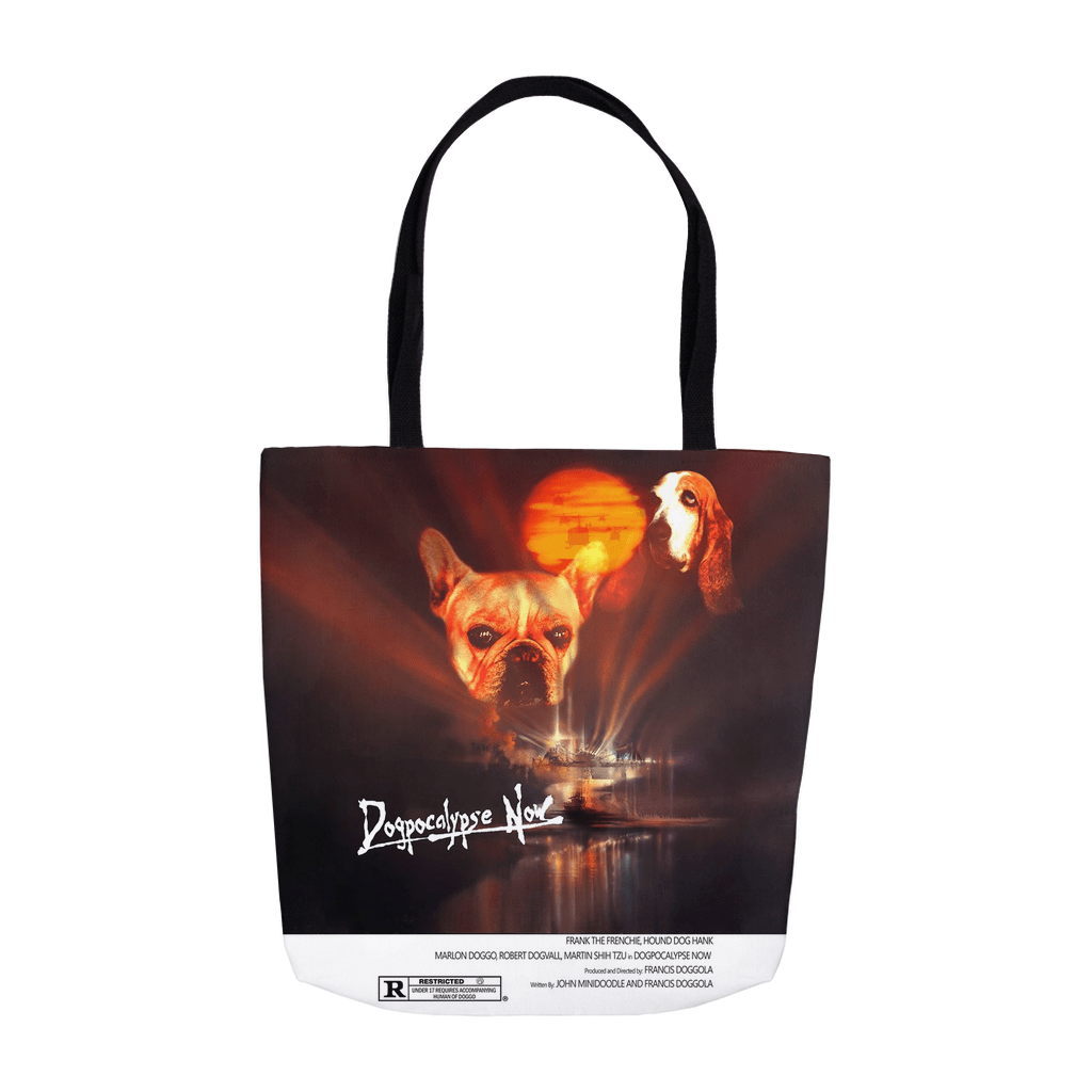'Dogpocalypse Now' Personalized 2 Pet Tote Bag