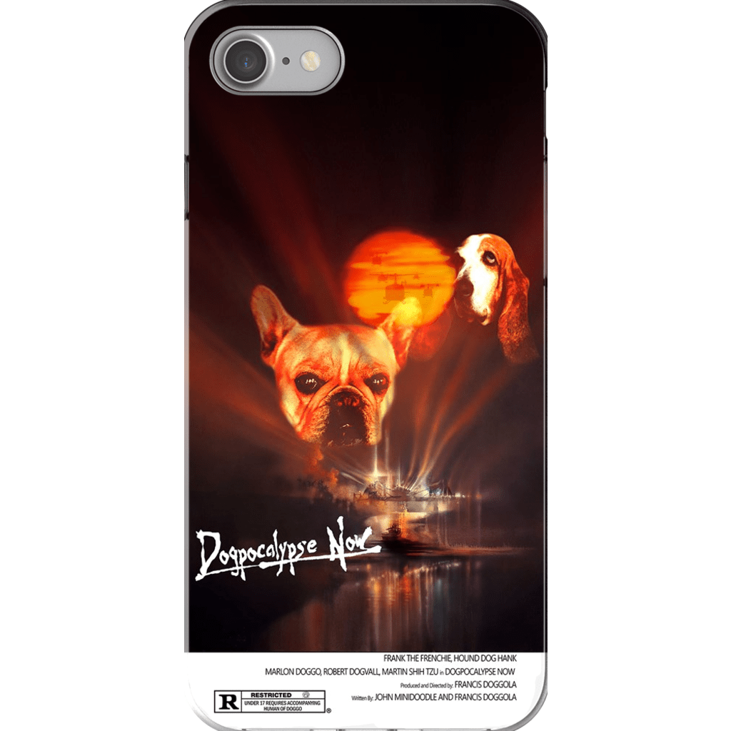 'Dogpocalypse Now' Personalized 2 Dog Phone Case