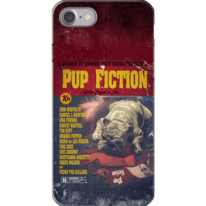 Pup Fiction: Personalized Phone Case