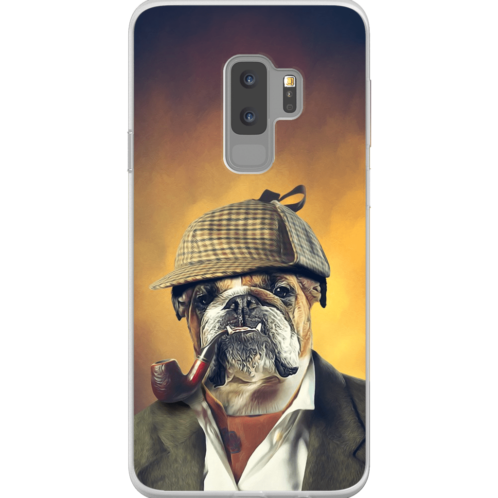 Sherlock Doggo: Personalized Phone Case