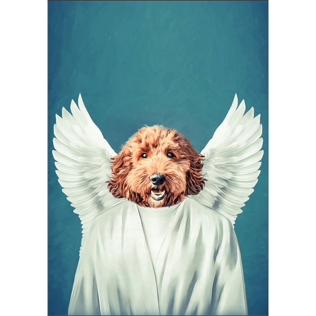 The Angel: Personalized Dog Poster