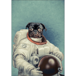 The Astronaut: Personalized Poster