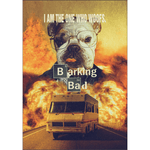 Barking Bad: Personalized Dog Poster