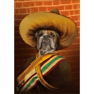 El Jefe: Personalized Dog Poster