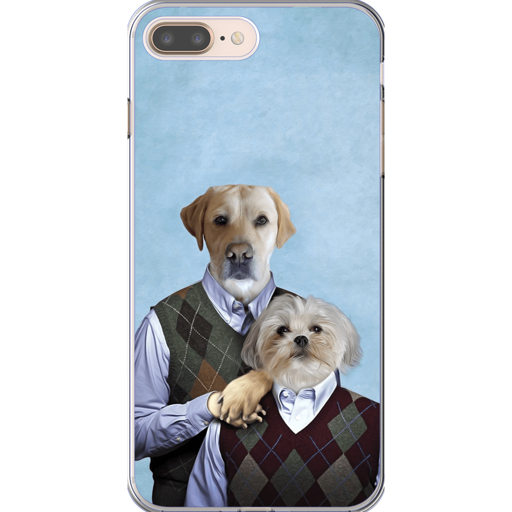Step-Doggos: Personalized 2 Dog Phone Case