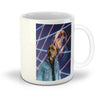 '1980s Lazer Portrait' Personalized Pet Mug