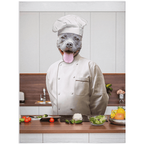 'The Chef' Personalized Pet Blanket