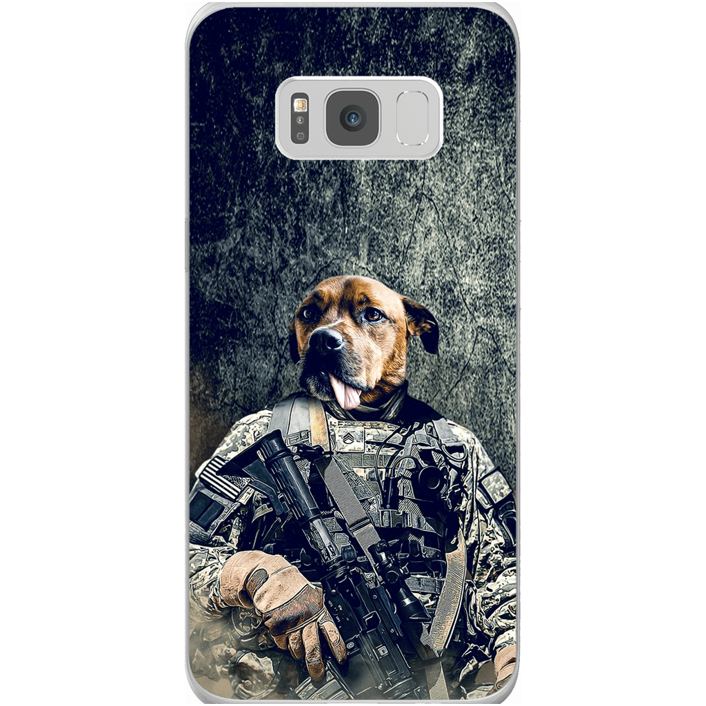 'The Army Veteran' Personalized Phone Case