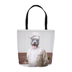 'The Chef' Personalized Tote Bag