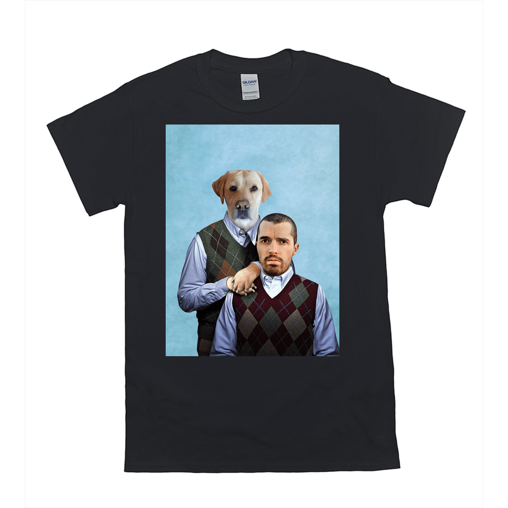 'Step Doggo & Human' Personalized T-Shirt