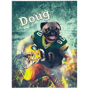'Green Bay Doggos' Personalized Pet Blanket