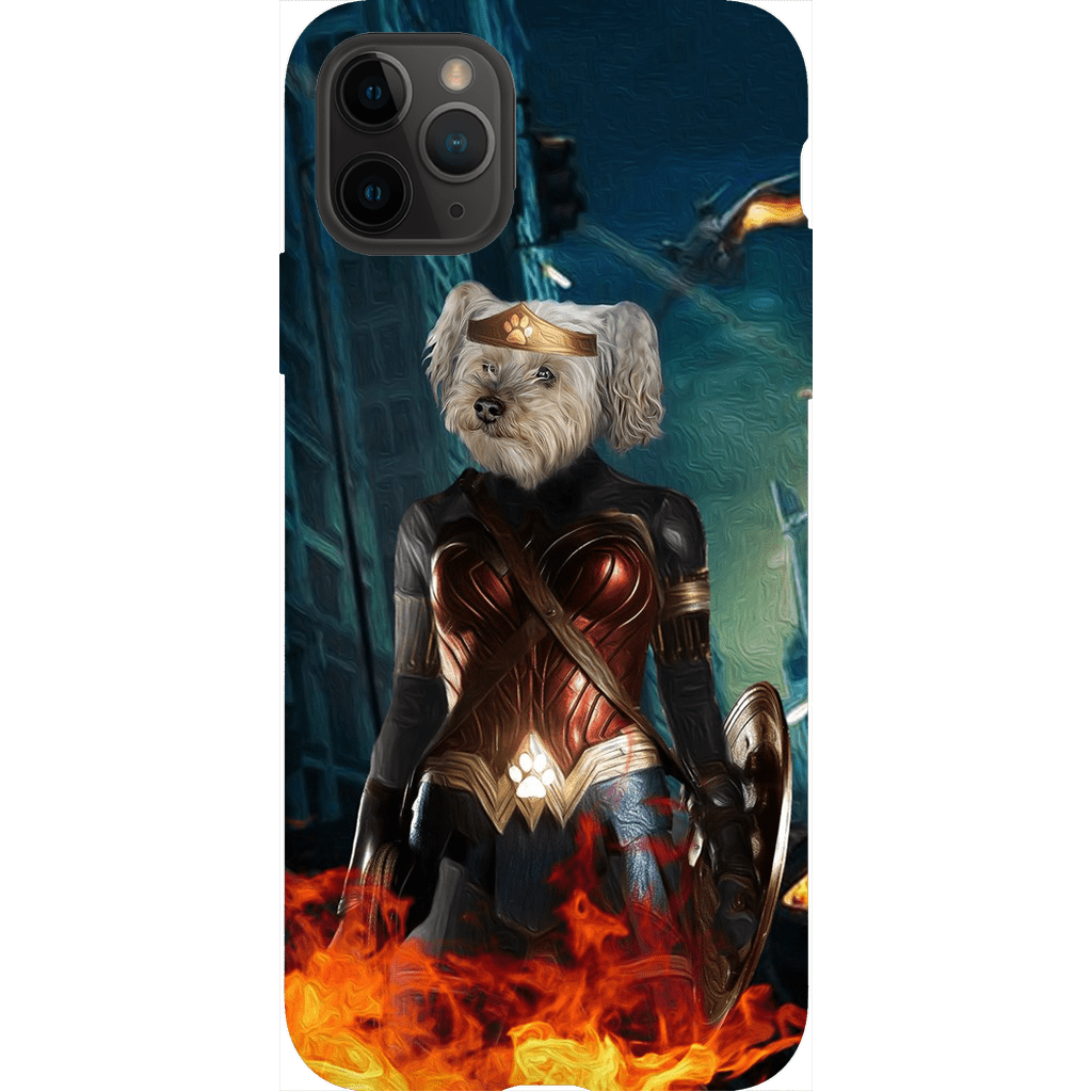 'Wonder Doggette' Personalized Phone Case