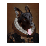 'The Duke' Personalized Pet Standing Canvas