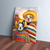 '2 Amigos' Personalized 2 Pet Canvas