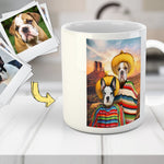 '2 Amigos' Personalized 2 Pet Mug