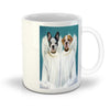 '2 Angels' Personalized 2 Pet Mug