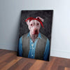 '2Pac Dogkur' Personalized Pet Canvas