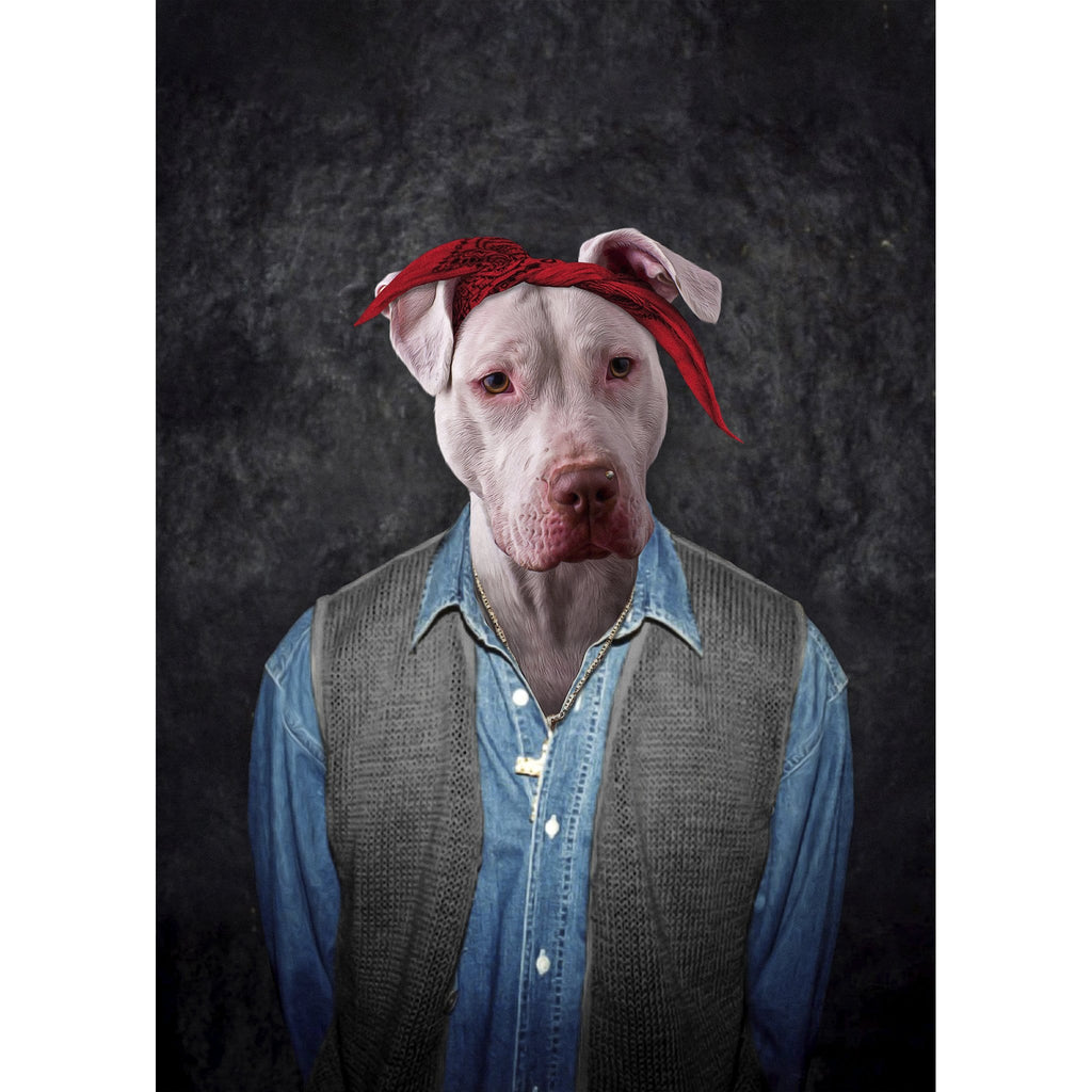 '2Pac Dogkur' Digital Portrait