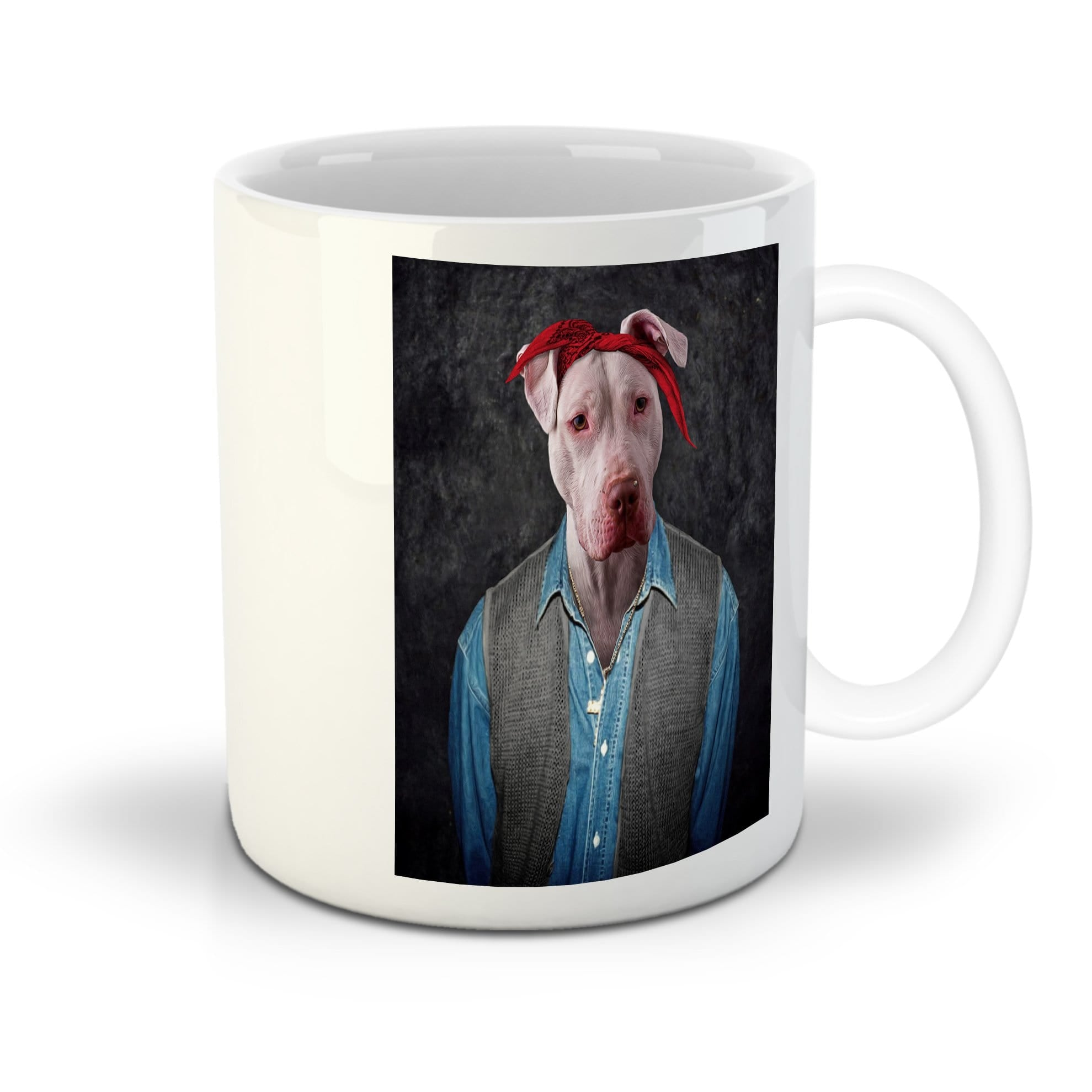 '2Pac Dogkur' Personalized Pet Mug