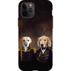 'The Admiral and the Captain' Personalized 2 Pet Phone Case