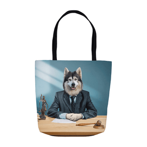'The Lawyer' Personalized Tote Bag