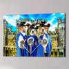 '3 Musketeers' Personalized 3 Pet Canvas