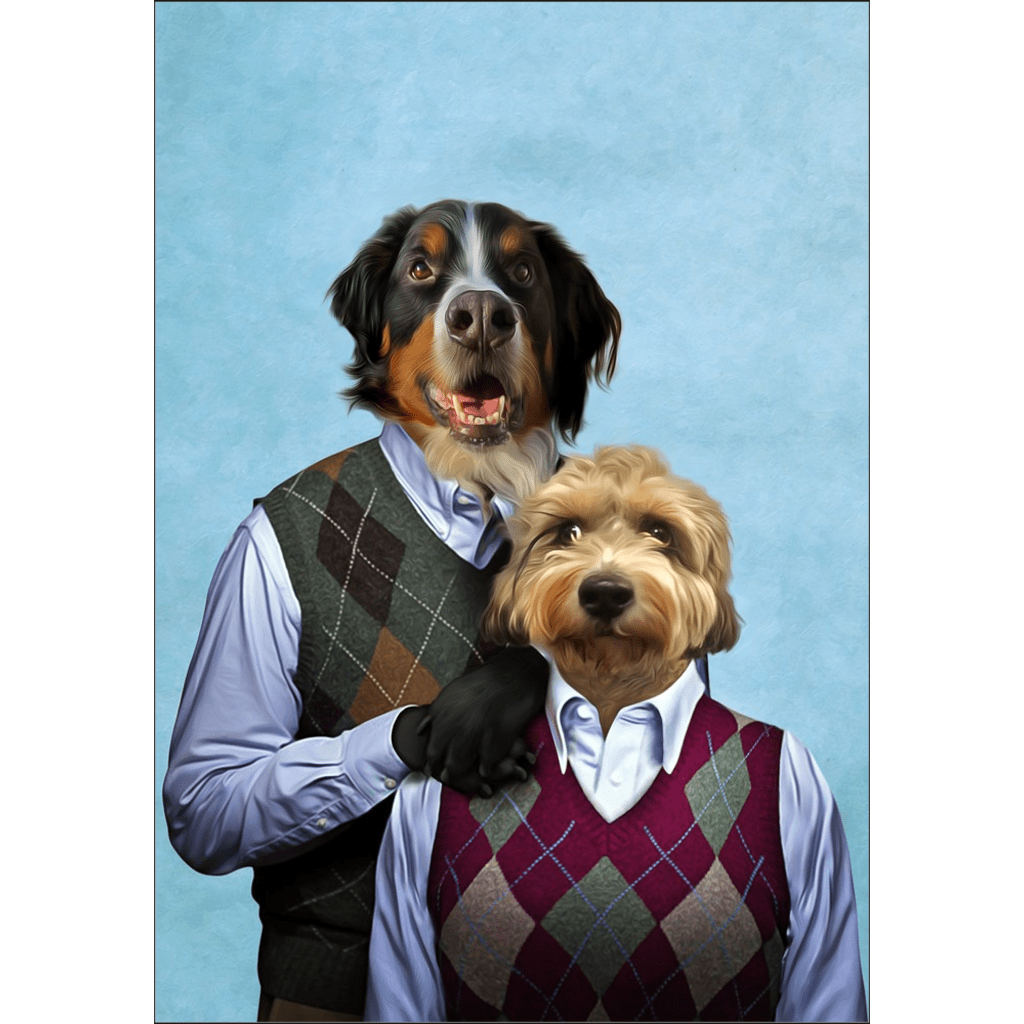 Step Doggo & Doggette: Personalized Poster