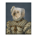 'The Princess' Personalized Pet Standing Canvas