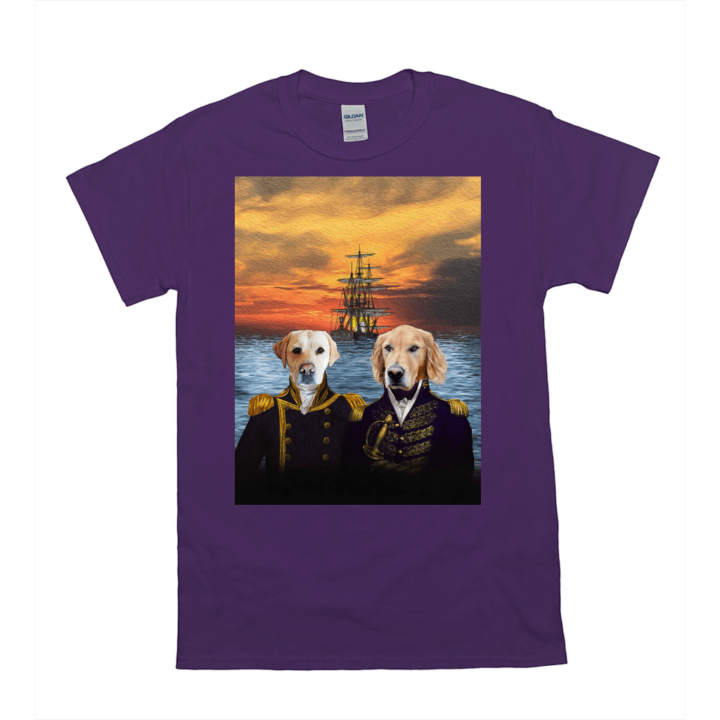 'The Explorers' Personalized 2 Pet T-Shirt