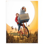 'Doggo-Terrestrial' Personalized Pet/Human Poster