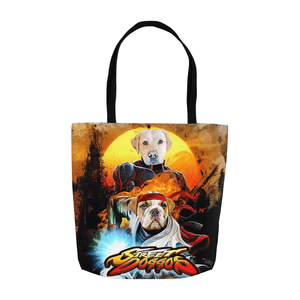 'Street Doggos' Personalized 2 Pet Tote Bag