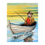'The Fisherman' Personalized Pet Standing Canvas