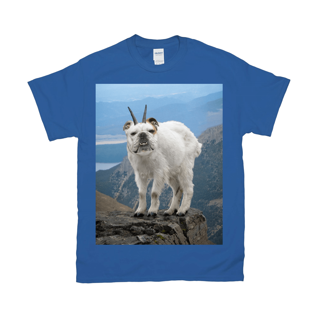 'The Mountain Doggoat' Personalized Pet T-Shirt