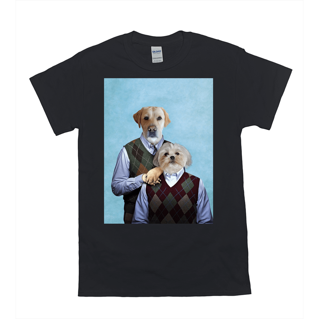 'Step Doggos' Personalized 2 Pet T-Shirt