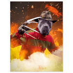 'Freddy Woofer' Personalized Pet Poster