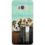 'American Pawthic' Personalized 2 Pet Phone Case