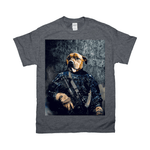 'The Navy Veteran' Personalized Pet T-Shirt