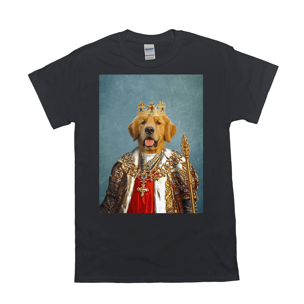 'The King' Personalized Pet T-Shirt