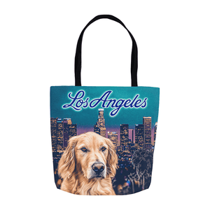 'Doggos of Los Angeles' Personalized Tote Bag