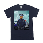 'The Police Officer' Personalized Pet T-Shirt