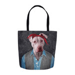 '2pac Dogkur' Personalized Tote Bag