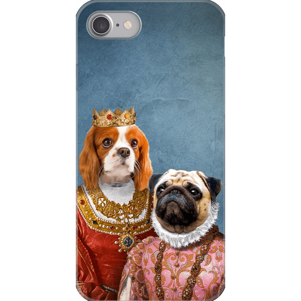 Queen and Archduchess: Personalized 2 Pets Phone Case